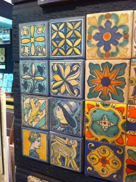 beautiful tile, artistic tile, tile shop