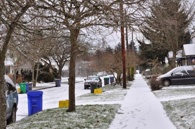 snow day portland oregon