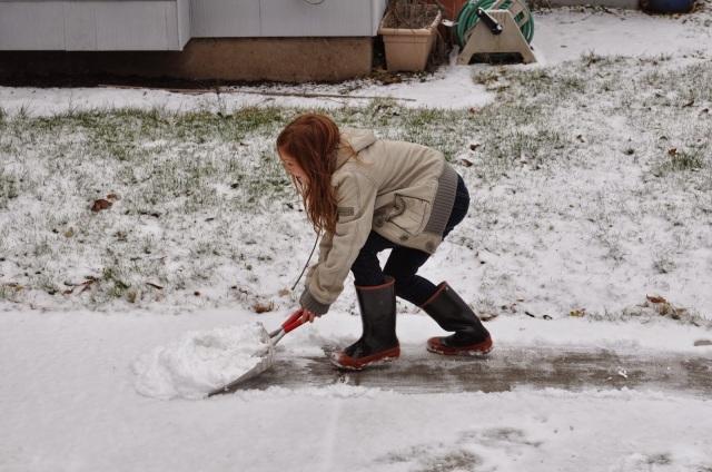 snow in portland oregon, portland based blogger