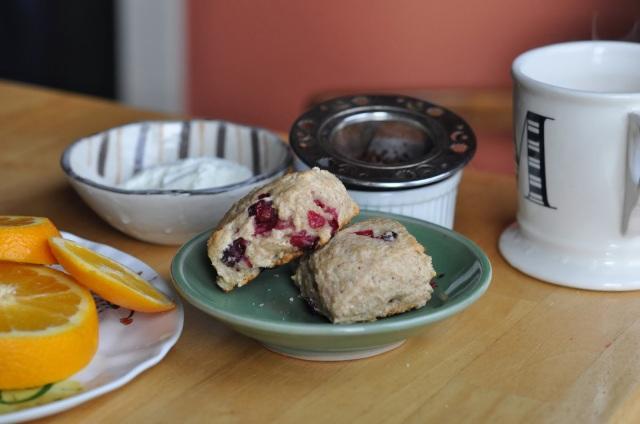 cranberry scones, tea scones, scones recipe, tea time, portland blog, portland blogger, porltand oregon blogger