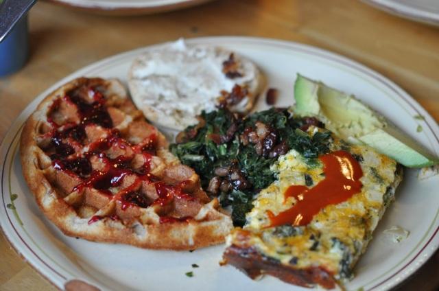 gluten-free waffle recipe, portland oregon, waffles recipe, healthy waffle recipe, healthy waffles
