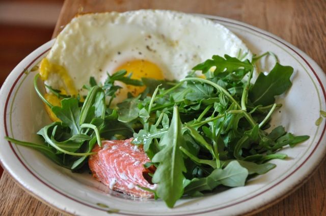 salmon, breakfast, gluten-free breakfast ideas, healthy breakfast, baked eggs